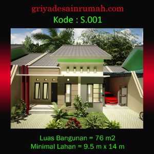 Rumah minimalis type 76 di cirebon