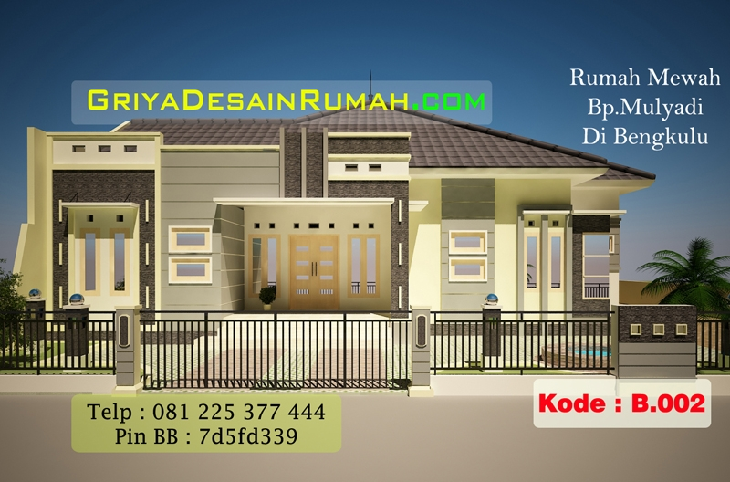 Rumah Besar 1 Lantai Di Bengkulu