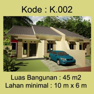 Rumah Type 45 Bpk.Haryadi di Yogyakarta