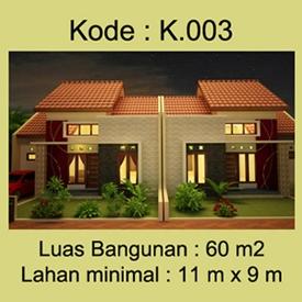 Rumah Minimalis 1 lantai Ibu Wulandari di Yogyakarta
