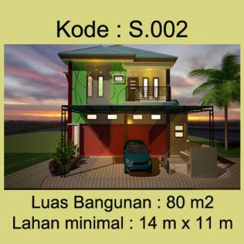 Rumah Toko 2 lantai Bpk.Wawan di Lampung