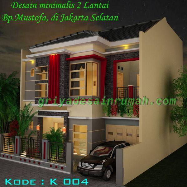 Desain-Rumah-Minimalis-Modern-2-Lantai | Jasa Desain Rumah