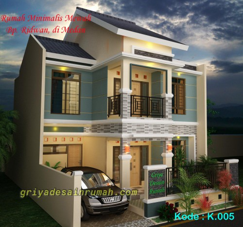 desain rumah minimalis mewah 2 lantai