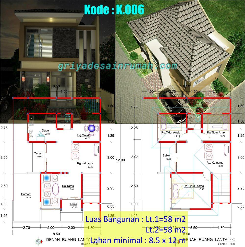 Desain Rumah Minimalis 2 Lantai Jasa Desain Rumah