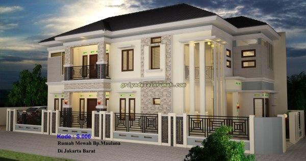 Desain Rumah 2 Lantai Mewah
