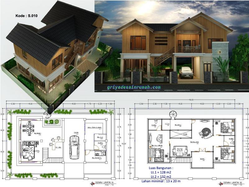 Desain Rumah 2 Lantai Jasa Desain Rumah