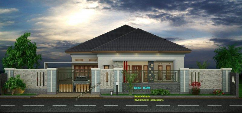 Gambar Desain Rumah Type 300 1 Lantai Mewah