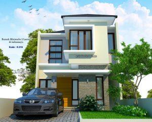 rumah 2 lantai lebar 6 meter minimalis | jasa desain rumah