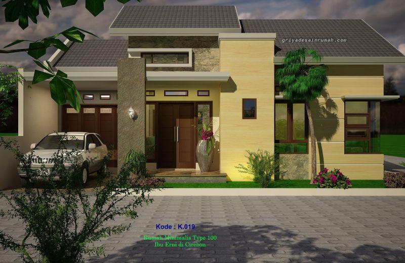Desain Rumah Minimalis Type 100 Hook 1 Lantai