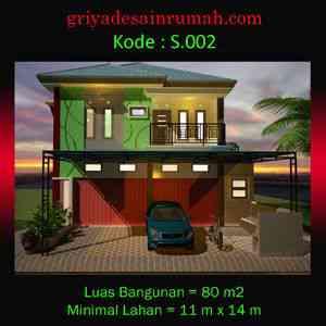 Desain Ruko di Lampung