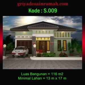 Desain Rumah 1 Lantai Minimalis Mewah