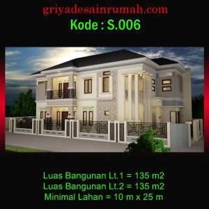 Rumah 2 Lantai Mewah di Cengkareng