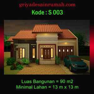 Desain Rumah Minimalis 1 lantai di wonosobo