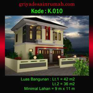 Desain Rumah Toko Mewah 2 Lantai