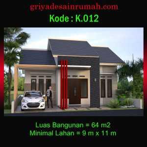 Desain Rumah Type 64