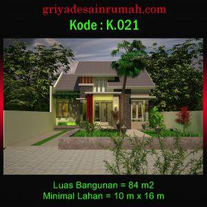 Desain Rumah Type 84