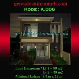 Desain rumah minimalis 2 lantai di makasar