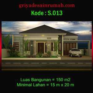 Rumah Type 150 Mewah
