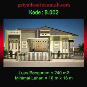 Rumah besar mewah 1 lantai di bengkulu