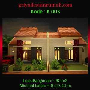 Rumah minimalis 1 lantai di yogyakarta