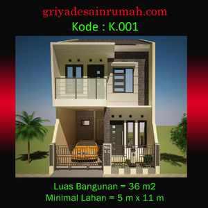 Rumah minimalis 2 lantai di tangerang