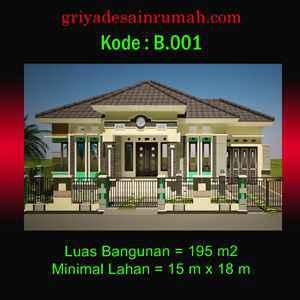 rumah besar menawan 1 lantai di palembang