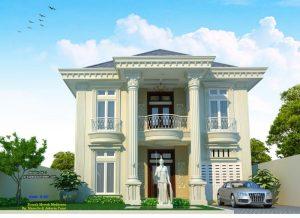 gambar rumah mewah mediteran eropa 2 lantai   jasa desain
