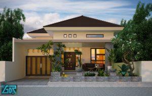 denah rumah type 150 ukuran 12x20 meter   jasa desain rumah
