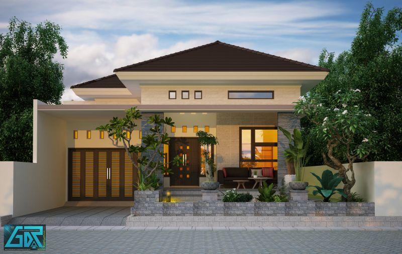 desain rumah type 150 minimalis